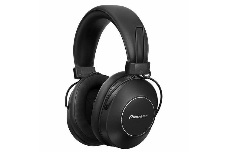 Pioneer SE-MS9BN-B Noise Cancelling Wireless Bluetooth Over Ear Headphones w Mic