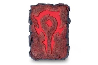 World Of Warcraft 6,720mAh Horde Symbol Pocket Dual USB Charger PowerBank/Lights