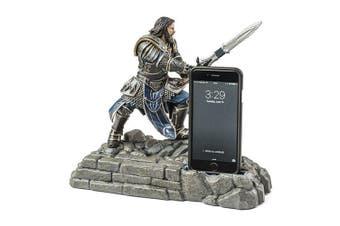 World Of Warcraft Lothar Statue/Figural Phone/iPhone/Samsung Dock/Stand/Holder