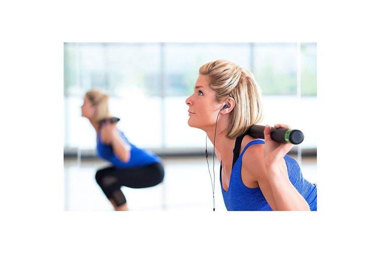Motorola Earbuds 2 In-Ear Headphones/Headset w/ In-Line Microphone/Earbuds BLK