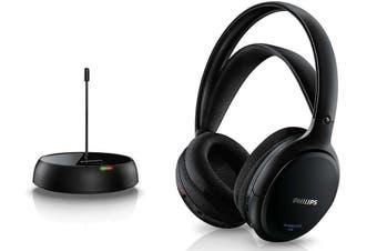 Philips SHC5200 FM Wireless Headphones Rechargeable Battery for TV/Radio/MP3/DVD