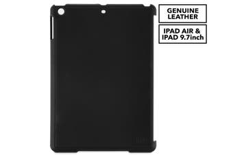 """Sena Lugano Snap-On Leather Case Cover Protector for Apple iPad Air/9.7"""" Black"""