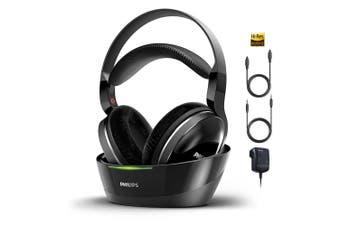Philips SHD8850 Digital Wireless Headphones/Hi-Res Audio for TV/3.5mm/Optical