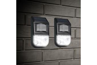 2x 5M Sensitive Motion Sensor 70 Lumen Solar LED Security/Entertaining Light