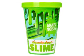 Nickelodeon Slime Noisy Kids/Children 3y+ Anti Stress/Relief Squeeze Toy Green