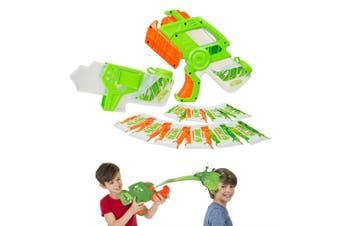 Nickelodeon Slime Hyper Blaster Game w/ 10x Instant Slime Powders f/ Kids 5y+