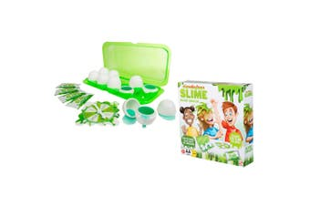 Nickelodeon Slime Smash Game w/ 4x Instant Slime Powders/Eggs f/ Kids 5years+