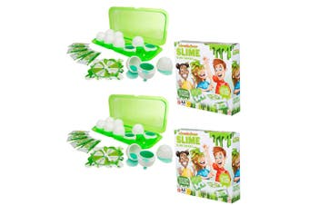 2x Nickelodeon Slime Smash Game w/ 4x Instant Slime Powders/Eggs f/ Kids 5years+