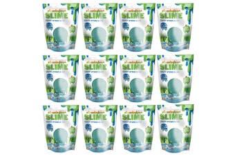12x Nickelodeon Slime Crazy Hydro Slime w Beads/Glitter Toy f Kids 3y+ Sea Burst