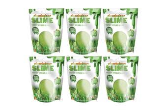 6x Nickelodeon Slime Crazy Hydro Slime w/ Beads/Glitter Toy f/ Kids Groovy Grass