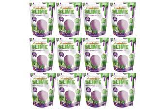 12x Nickelodeon Slime Crazy Hydro Slime w Beads/Glitter Toy/Game Kids Oil Slick