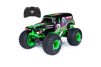 Monster Jam 1:10 Radio Control Grave Digger Vehicle Truck Kids/Children 4y+ Toy
