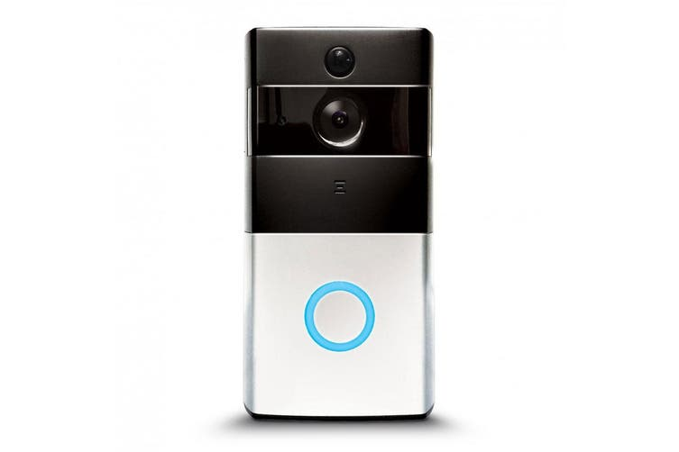 Laser Smart Doorbell WiFi Camera/Video Door Bell Phone Intercom Ring Chime SLV