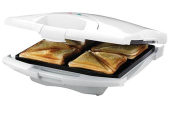 Tiffany Electric 4 Slice Sandwich Maker Press Toaster/Toast Square Loaf Bread