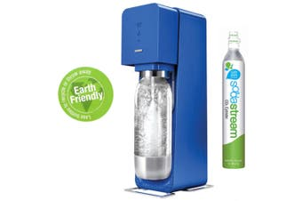 Soda Stream Source Blue Metal Home Sparkling Water Drinks Maker Sodastream