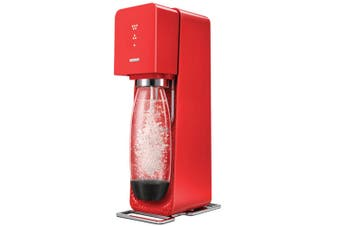 Soda Stream Red Source Element Drinks Soda Sparkling Water Maker Sodastream