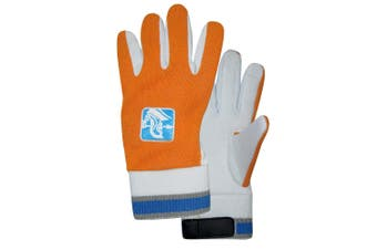 Spartan Cricket Cotton Padded Palm Inners Wicked Keeping Glove Boys Orange