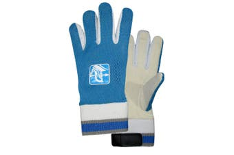 Spartan Cricket Chamois Leather Palm Padded Inners Wicked Keeping Glove Boys BL