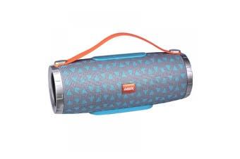 Laser Portable Rechargeable Battery Bluetooth Speaker w/FM Radio/Mic/AUX/USB BLU