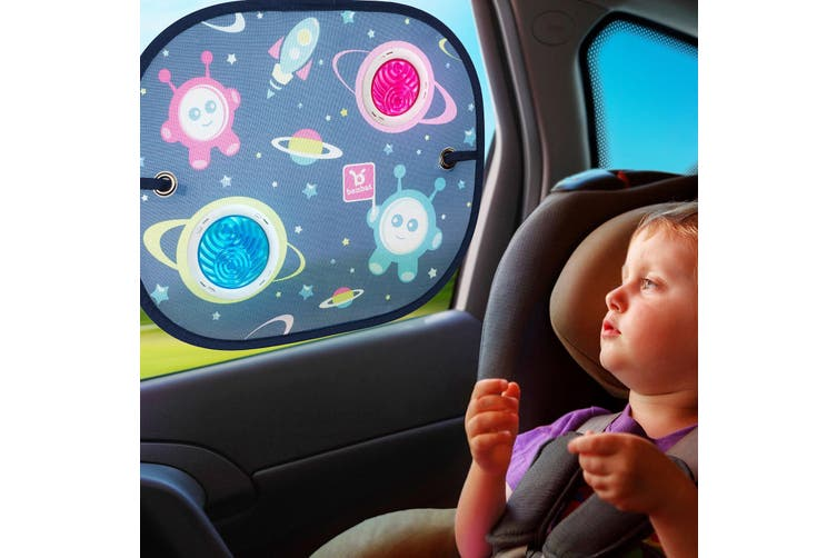4PK Benbat Bubble 44cm Sunshade Baby 0m+ Sunshade Car Seat Window Shield Cover