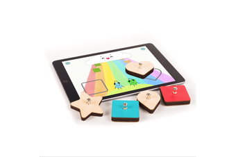 Marbotic Smart Shapes Kids Educational Learning Wooden Toys for Apple iPad 3y+