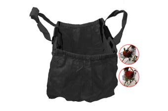 Multi Purpose Clip + Carry Bag for Shopping Trolley/Cart Waterproof Compact BLK