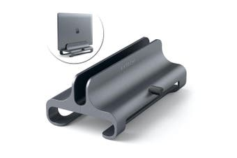 Satechi Aluminium Vertical Laptop/Notebook Stand/Adjustable Holder Space Grey