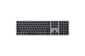Satechi Aluminum Bluetooth/Wireless Keyboard f/ iMac/iPad/Macbook Space Grey