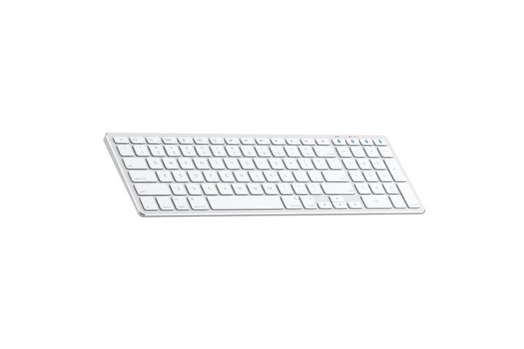 Satechi Slim Rechargeable Bluetooth/Wireless Keyboard/Keypad f/iMac/Apple SLV