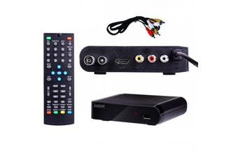 Laser HD TV Tuner Digital Set Top Box w/Multimedia USB Playback/Player/Recorder