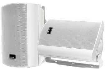 """WINTAL STUDIO5W 5"""" 80 W 2x Indoor Outdoor Weather Proof Surround Speakers White"""