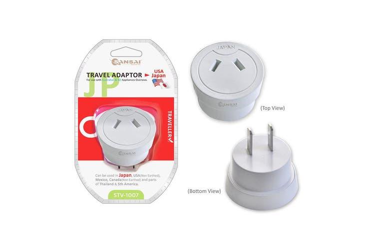 Universal Travel Power Adapter Australia AU/NZ to USA/Canada/Japan/Mexico/Peru