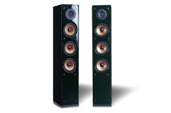 Pure Acoustics 250W Supernova 8 Front Floor Standing Speaker Pair f/Home Theatre