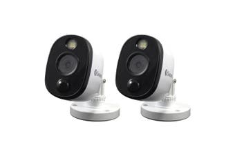 2x Swann Thermal Sensing 1080P Extra Security Camera/Home CCTV Cam for DVR White