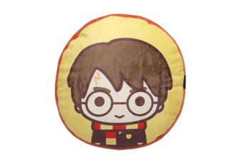 "Tomy Harry Potter 12"" Plush Cushion Throw Pillow Travel/Sofa/Home Decor Yellow"