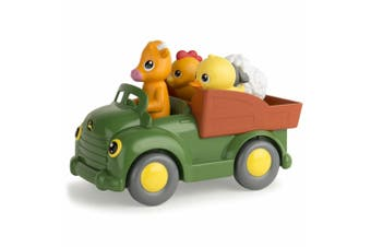 John Deere Learn N' Pop Farmyard Friends Shapes 12m+ Activity Vehicle Baby Toys