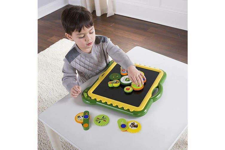 John Deere Gearation Motorised Gears Kids Toys w/ Magnetic Activity Board 3y+