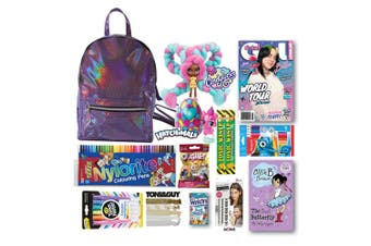 16pc Total Girl Magazine Showbag w/Assorted Doll/Markers/Kids Backpack/Hair Ties