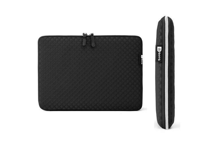 Black Booq Taipan Spacesuit Protective Sleeve Case for 15 inch Macbook/Laptop/PC