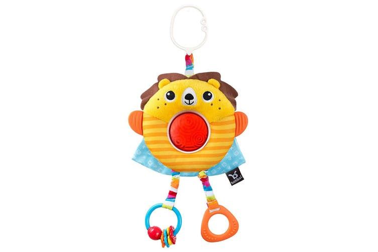 2PK Benbat Dazzle Multi Skills Travel Educational/Development Baby 0m+ Toy Lion