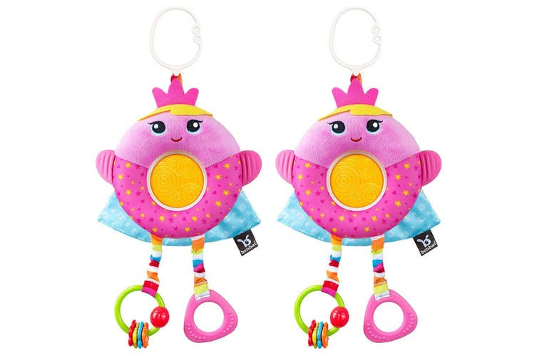 2PK Benbat Dazzle Multi Skills Travel Educational/Development Baby 0m+ Toy Fairy
