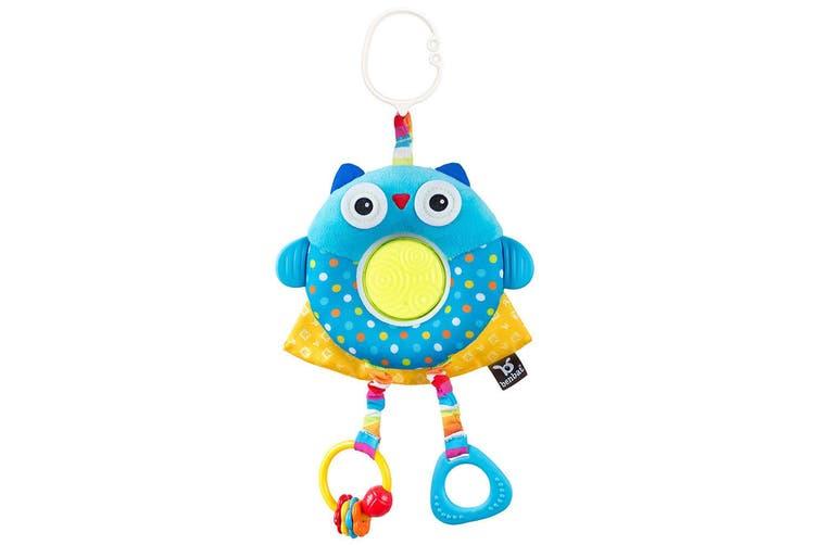 2x Benbat Dazzle Multi Skills Travel Educational/Development Baby/Infant Toy Owl