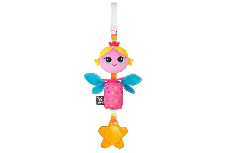 2PK Benbat Wind Chime Princess Baby/Infant 0m+ Hanging Educational Stroller Toy