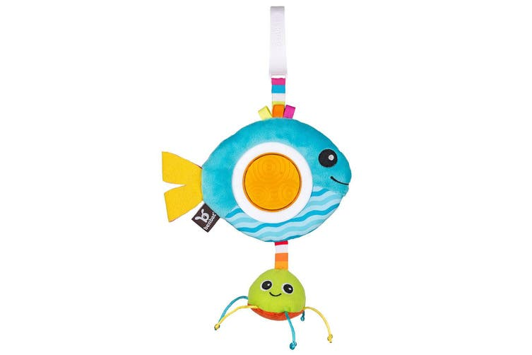Benbat Dazzle Rattle Fish Baby/Infant 0m+ Hanging Educational Toys for Stroller