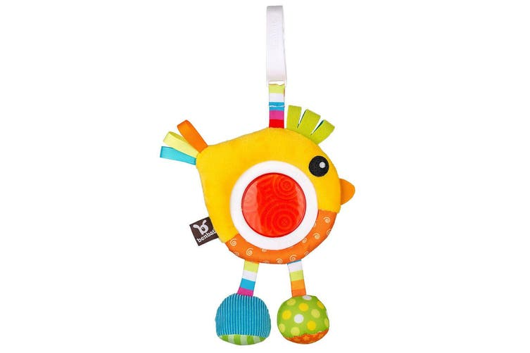 Benbat Dazzle Rattle Bird Baby/Infant 0m+ Hanging Educational Toys for Stroller