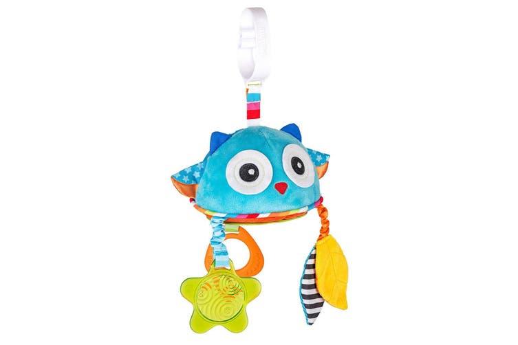 Benbat Travel Mirror Owl Hanging Educational Stroller/Pram Baby/Infant 0m+ Toy