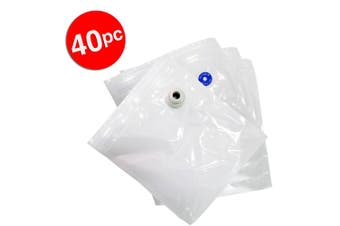 40x Large Storage Bags 29x27cm for Tiffany Vacuum Food Freezer Container TVS02