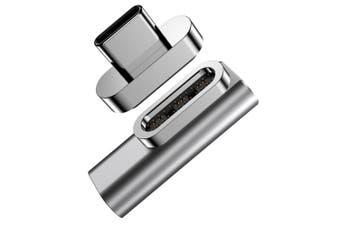 Blupeak USB-C 100W Sync & Charge Magnetic Adapter for USB-C iPad/Laptop/MacBook