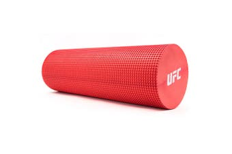 UFC EVA Foam Roller 15x45cm Sports/Fitness Training Body Massage/Recovery Red