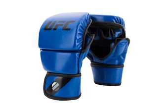 UFC Ultimate Kombat Contender Fighting/Boxing Training Open Palm Gloves L/XL BLU